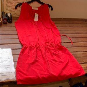 Amanda Uprichard Drop Waist Dress
